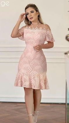 Plus size outfits Elegant Dresses, Cute Dresses, Beautiful Dresses, Short Dresses, African Wear Dresses, Latest African Fashion Dresses, Lace Dress Styles, Dress Outfits, Fashion Outfits