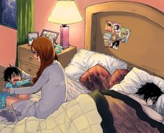 Ulquiorra and Orihime. Never cared much about this pairing, but this is so dang cute!