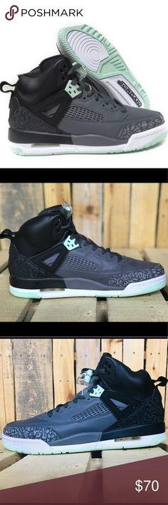promo code a9dc4 ebf36 Nike Jordan Spizike GG Black Mint Foam-Grey 9.5Y Nike Jordan Spizike GG