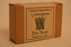 3oz Bar Boxed All Natural Soap by MaineMountain on Etsy, $4.95