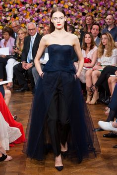 christian dior haute couture fall 2012 by raf simons