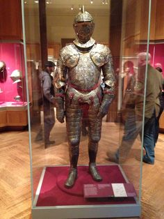 Armour of Henry II of France. Metropolitan Museum of Art, NYC.
