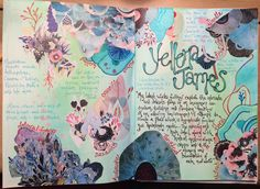 Ideas For Gcse Art Sketchbook Layout Backgrounds A Level Art Sketchbook, Sketchbook Layout, Textiles Sketchbook, Artist Sketchbook, Sketchbook Pages, Art Journal Pages, Art Pages, Sketchbook Ideas, Kunstjournal Inspiration
