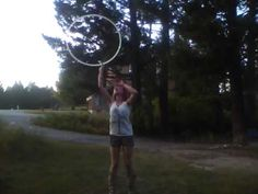 Hula hooping to The Glitch Mob - farewell to summer