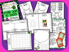 Froggy Goes to School! Back to School FUN with Froggy includes: A Froggy Flip puppet, Graphing My Emotions, Comparing Myself to Froggy, Dream writing, and a story Map!