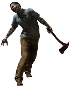 Zombie With Axe from Resident Evil 6