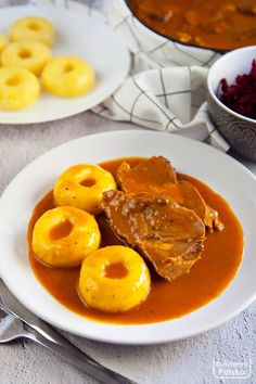 Polish Recipes, Thai Red Curry, Oven, Pork, Dinner, Cooking, Ethnic Recipes, Drink, Recipes