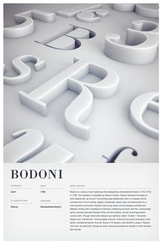 Type Posters by Woodhouse , via Behance