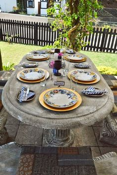 Mother's Day Lunch… with a twist South African Recipes, Table Set Up, Event Organization, Meals For One, Table Settings, Lunch, Patio, Day, Outdoor Decor