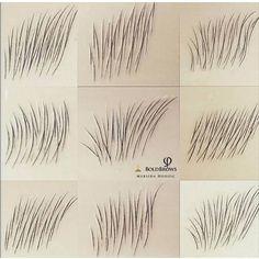 Hair For Eyebrows Eyebrows Sketch, Mircoblading Eyebrows, Tweezing Eyebrows, How To Draw Eyebrows, Permanent Makeup Eyebrows, Threading Eyebrows, Eyebrow Makeup, Eyebrow Brush, Shape Eyebrows