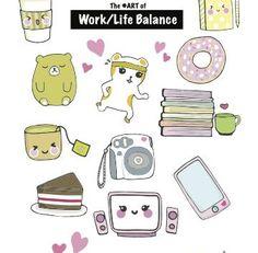 Work Life Balance Planner Bookmark Printable