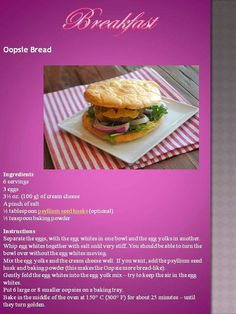 Oopsie bread by Anina Den Heyer Banting Recipes, Gluten Free Recipes, Low Carb Recipes, Diet Recipes, Recipies, Banting Breakfast, Banting Bread, Bread Ingredients, Low Carb Diet