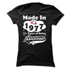 1977 38 years T Shirts, Hoodies. Check price ==► https://www.sunfrog.com/No-Category/1977-38-years-Ladies.html?41382
