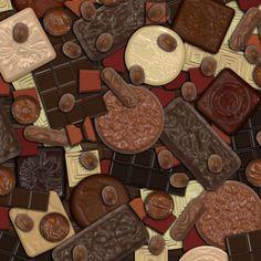 Got Chocolate? fabric by bonnie_phantasm on Spoonflower - custom fabric