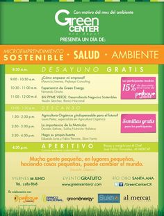 Evento en Green Center, costaricagratis.com