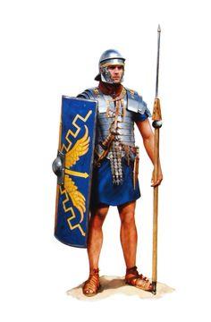 Легионер вторая половина I в. н.э.
