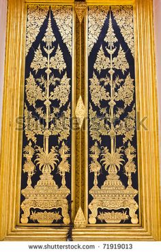 Traditional Thai style painting art on the temple door & ขุนแผน นางแก้วกิริยา อ.จักรพันธ์ โปษยกฤต | Thai Artist | Pinterest Pezcame.Com