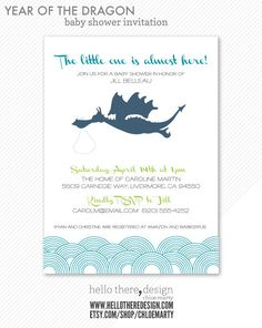 19 Best Invitations Images Baby Dragon Dragon Baby Shower Baby