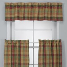 Awesome Plaid In Autumn Tones For Curtains, Couches, Etc.