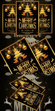 Christmas Flyer. Flyer Templates. $8.00