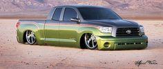 Slammed Tundra   Red McComb's Universal Toyota   Pinterest