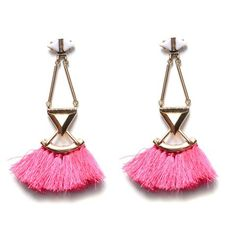 Nairobi Tassel Drop Earrings