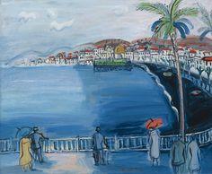 """""""La Baie des Anges, Nice"""", 1928 de Raoul Dufy (1877 - 1953) #peinture…"""
