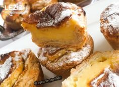 Pastel De Nata French Toast, Pasta, Breakfast, Food, Pastel De Nata, Custard, Pastries, Breakfast Cafe, Essen
