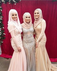 They all look gorgeous mashallah ⚜