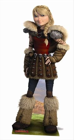 how to train your dragon astrid costume - Google Search