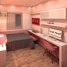 Interior design is the best thing you can do for your home Room Design Bedroom, Girl Bedroom Designs, Home Room Design, Room Ideas Bedroom, Small Room Bedroom, Home Design Decor, Home Interior Design, Bedroom Decor, Home Decor