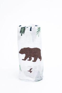 Saranoni Yosemite Muslin Swaddle Blanket