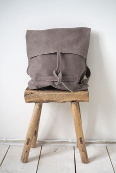 Leather Bag CASHMERE Backpack, Natural