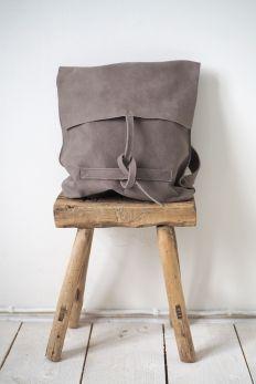 Leather Bag CASHMERE Backpack, Natural