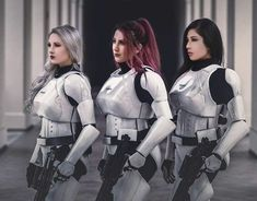 I wanna be a trooper now Star Wars Mädchen, Star Wars Girls, Star Wars Ships, Sith, Female Stormtrooper, Urbane Mode, Film Science Fiction, Drawn Art, Love Stars