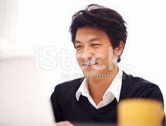 Tackling his work wi