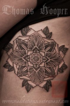 Marsallis Flower - Thomas Hooper Tattooing -  - 001 - July 28, 2011