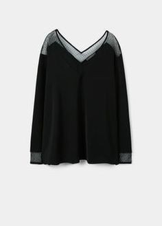 Plumeti panel blouse