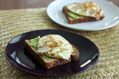 Avocado and Egg Toasts