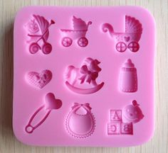 Wholesale 3D Fondant Mold - Buy Baby Care Chocolate Candy Jello 3D Silicone Mold Soap Mould Cartoon Figre/cake Tools, $13.99 | DHgate