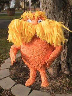 Lorax pinata by MissSuziQCreations on Etsy, $35.00