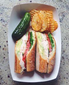 Classic Deli-Style Turkey Sub Burger/Sandwiches/Panini Sandwich Bar, Deli Sandwiches, Turkey Sandwiches, Healthy Sandwiches, Baguette Sandwich, Healthy Sandwich Recipes, Sandwich Ideas, Burger Recipes, Deli Food