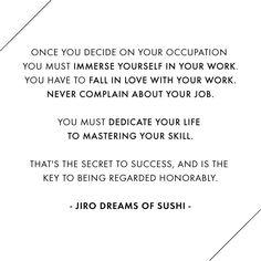Jiro Dreams of Sushi / Jennifer Chong