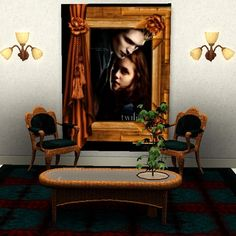 The Twilight saga paintings No2 by Trudie55 - Sims 3 Downloads CC Caboodle