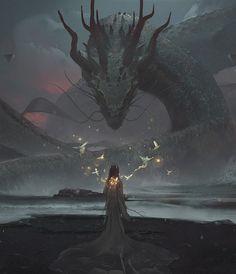 Guardião do Vale dos Dragões. Para poder ganhar o acesso para esse vale, a apenas duas maneiras. A primeira envolve uma luta de vida e morte e pode estragar uma visita de boas intenções. Na segunda você ou deve ser um dragão ou ter amizades ou alianças com os dragões. Esse segundo, normalmente é utilizado pelas feiticeiras de Zar.