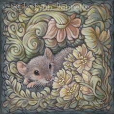 """""""Decorative Garden Mouse"""" by Lynn Bonnette"""