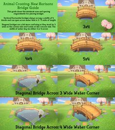 couple clothes A quick bridge spacing guide that I quickly whipped together in a couple hours. Hope this helps my fellow perfectionist! from /r/AnimalCrossing Animal Crossing 3ds, Animal Crossing Qr Codes Clothes, Animal Games, My Animal, Disney Channel, Motif Acnl, Ac New Leaf, Pokemon, Motifs Animal