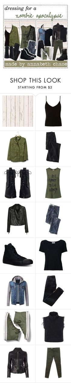 """☾; dressing for a zombie apocalypse 