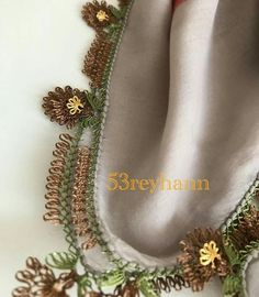 This Pin was discovered by Ayş Embroidery Suits, Embroidery Designs, Bargello, Lace Making, Eminem, Tatting, Knit Crochet, Instagram Posts, Creative
