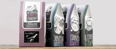 The Cornish Seaweed Company, packaging concept